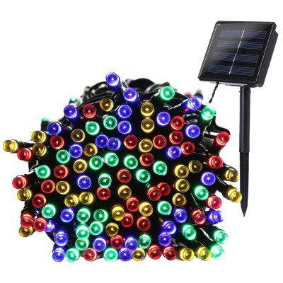 22M 200 LED String Fairy Lights Outdoor Christmas Waterproof Solar Powered Light