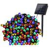 22M 200 LED String Fairy Lights Outdoor Christmas Waterproof op zonne-energie Light - MULTI-J