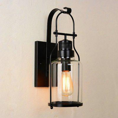 Retro Glass Wall Light Black Wall Lamp Living Room Lights Sale