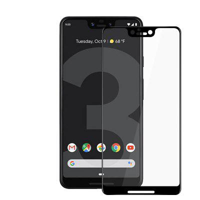 JOFLO 3D Full Cover Tempered Glass Screen Protector Film for Google Pixel 3 XL
