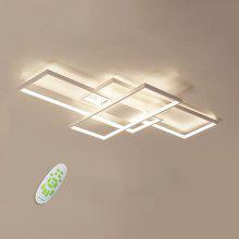 Modern Flush Mount Stepless Dimming Ceiling Light Square Combination Led Lamp