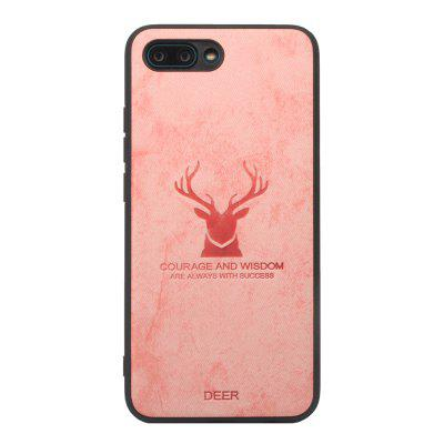 High Quality PU Fabric High Temperature Embossed Pattern Case for Huawei Honor10