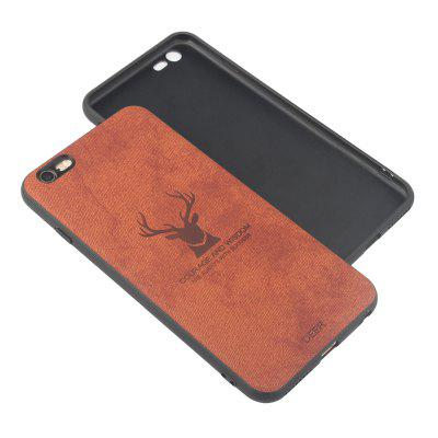 High Quality PU Fabric High Temperature Embossed Pattern Case for iPhone 6 Plus