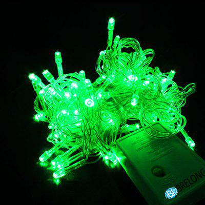 Impermeabile 10 Metri 100LED 8 Control Mode Holiday Light String Light