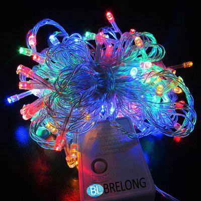 Waterproof 10 Meters 100LED 8 Control Mode Holiday Decoration Light String