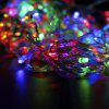 Waterproof 10 Meters 100LED 8 Control Mode Holiday Decoration Light String - MULTI