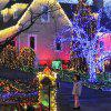 LED String Light Waterproof 5m 50 LED koperdraad Lamp Outdoor Garden Kerstmis - PURPER