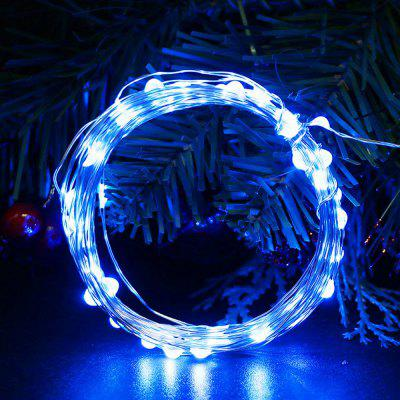 Waterproof LED String Light 10m 100LED Copper Wire Lamp Outdoor Garden Christmas