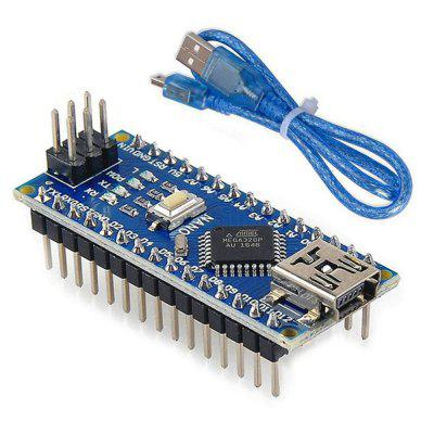 Mini Nano V3. 0 ATmega328P Microcontroller Board USB Cable for Arduino