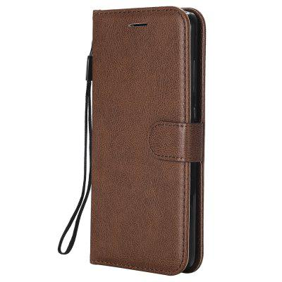 Plain PU Leather Wallet Case For Xiaomi Redmi Note 4X With Card Holder Cover