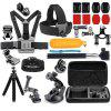 Accessories Kit for GoPro Hero 7 / 6 / 5 / 3 / 3+ / 4 / 4 Session / SJCAM / Yi - BLACK