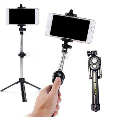 Fashion selfie Stick Retractable Tripod Bluetooth Remote Shutter