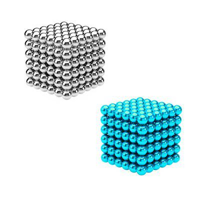 432Pcs 3mm DIY  Multicolor Magnetic Balls Magic Cube Magnets Puzzle Toy Gift