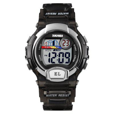 SKMEI Sports Children Wecker Stoppuhr Timing LED Leuchtende Digitaluhr