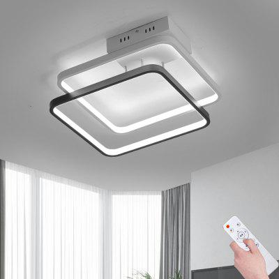 Creative Square Double-Layer Infinitely Dimmable Ceiling Lamp -50W