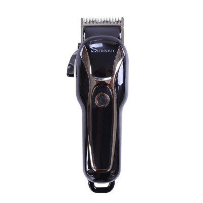SURKER Electric Hair Clipper LCD Adult Hair Clipper Alloy Knife