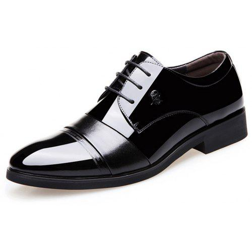 1 British style Mens lace up formal bussiness casual dress Shoes plus size