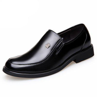 Men'S Business Suits Autumn Shoes Round Head Breathable and Comfortable Big Yard
