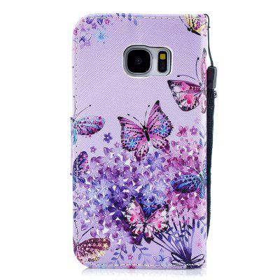 Butterfly Protection Holster Flip Phone Case for Samsung S 7