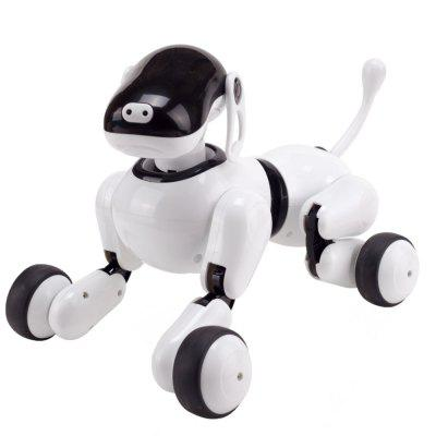 STEM AI Smart Robot Puppy Smart Voice and App Controlled Kids Robot Dog Toy