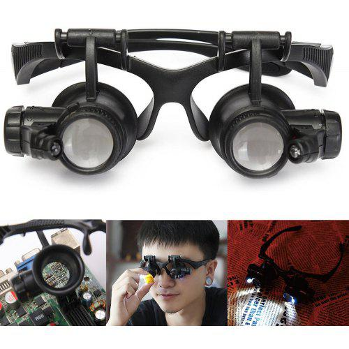 03af627e31b7 1PCS YWXLight Magnifying Glass Eye Jewelry Watch Repair Magnifier Glasses  With | Gearbest