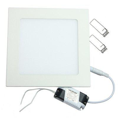 Ultra Thin LED Panel Downlight 6W Square Ceiling Recessed Lights for Home Hotel