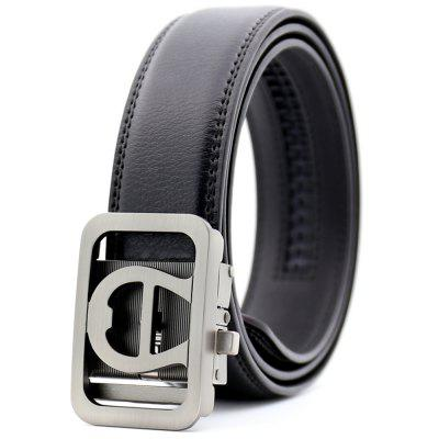 Men's Fashion Belts Automatically Buckle Belts