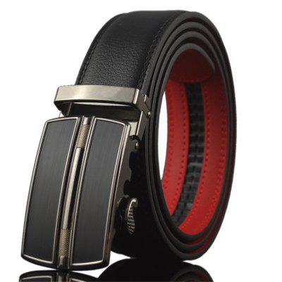 Men's Automatic Belt Buckle Business Belt
