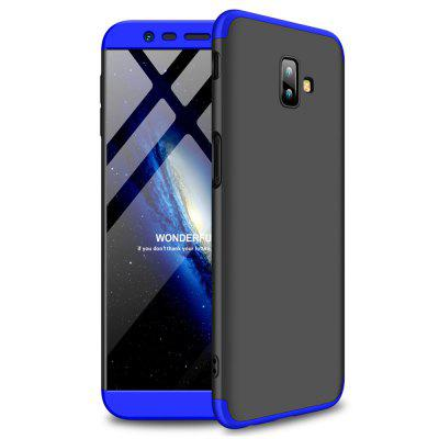 Shockproof Ultra-thin Full Body Cover Solid Hard Case for Samsung Galaxy J6 Plus