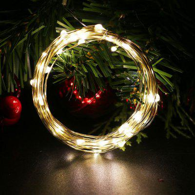 Waterdichte LED String Light 5m 50 LED koperdraad Lamp Outdoor Garden Kerstmis