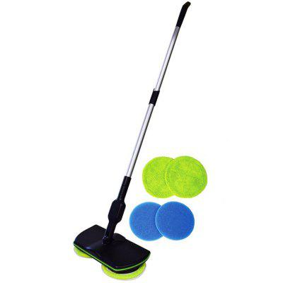 Electric Rotating Mop Rechargeable Sweeper Floor Cleaning Brush Spin Maid