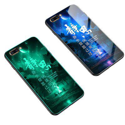 Luminous Toughened Glass Mobile Phone Shell for Nova2s