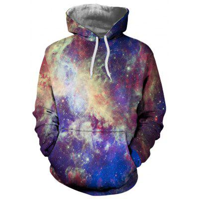 3D Winter Fashion Sports Star Print Ladies Hoodie