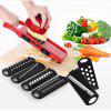 Six Piece Sets of Kitchen Multifunction Planer - RED