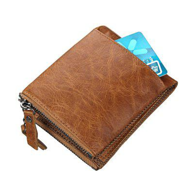 Crazy Horse Real leather men wallets Vintage genuine leather wallet for men