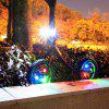 3 Change Modes of Bicycle Lamp LED Flash Lamp Spoke Lamp - CRYSTAL BLUE