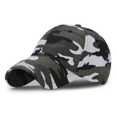 Camouflage Baseball Cap + Adjustable for 56-60cm head circumference