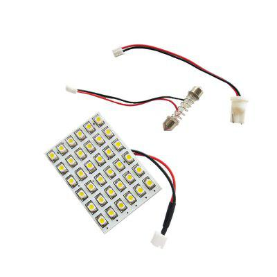 OMTO 36 SMD 2835 LED Auto Dome Panel Light Car Interior Reading Lamp Roof Bulb