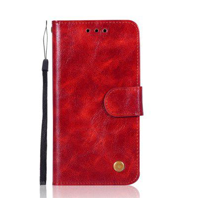 Para o caso do iPhone XS Moda PU Flip Wallet Leather Phone Cover