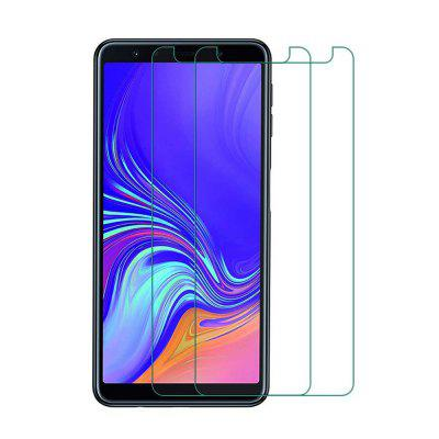 2 PCS Screen Protection Film Tempered Glass for Samsung Galaxy A7 2018 / A750