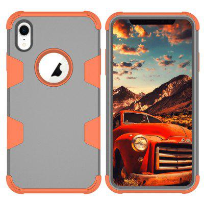 Per Iphone XR Case Durable PC + TPU 3 strati Hybrid Full Body Protect Cover