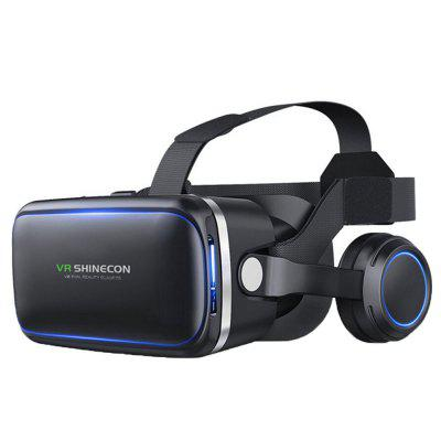 3D Glasses VR Virtual Reality Glasses Lens Adjustable with Headphone