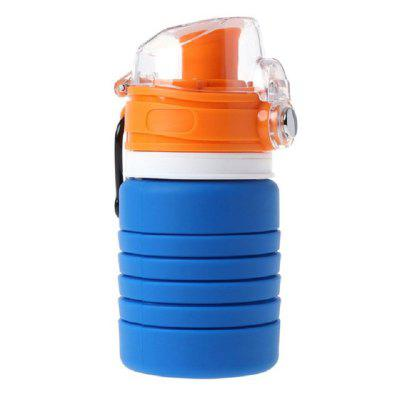 Collapsible Cup Silicone Retractable Folding Water Bottle