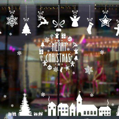Christmas Beautifully Element Window Decoration Door Posts