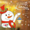 Christmas Decorations Snowman - RED
