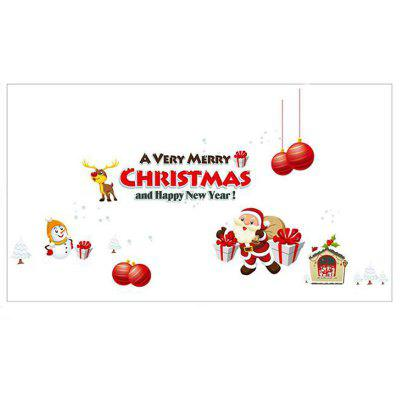 Christmas Decoration Wall Stick Window Stickers