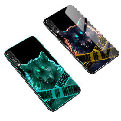 Luminous Toughened Glass Mobile Phone Shell for P20pro