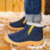 High To Help Outdoor Casual Shoes Cotton Shoes - BLEU PROFOND