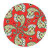 Non Slip Rubber Round  Anti-Water Gaming Cool Red Mouse Pad - MULTI