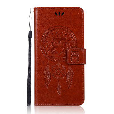 Owl Wallet Cover for Samsung Galaxy J3Star / AmpPrime 3 PU Flip Leather Case